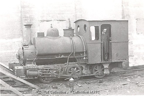 Number 7 at the Grand Falls mill shortly before it was relegated to the scrap heap.(Photo from the Canadian Museum of Science and Technology-Picturing the Past)