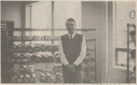 John Moore at the Cabot Bakery location on Cromer Avenue circa 1988. (Decks Awash)