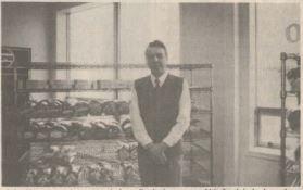 John Moore at the Cabot Bakery location on Cromer Avenue circa 1988. (Decks Awash)