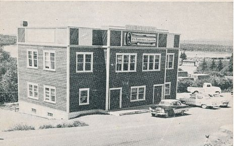 Lumbermen's Hall in Grand Falls 1950's.