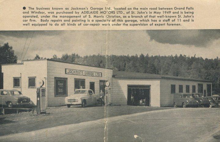 Jackmans garage lincoln road