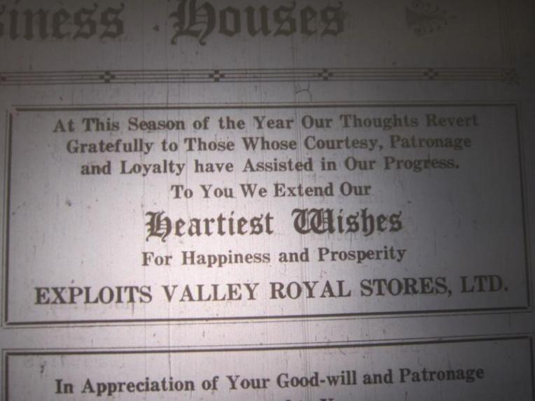 royal stores christmas 1937 good