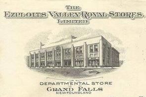 Royal stores header