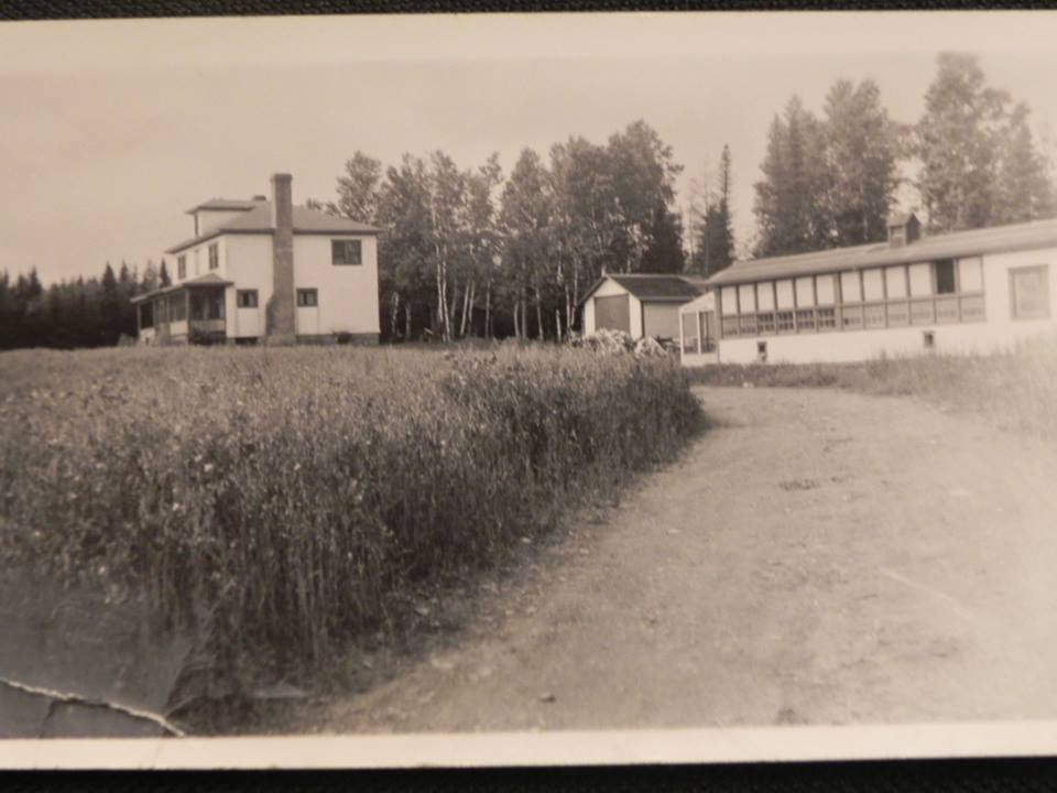 Managers house and part of the AND Co Dairy, Station Road Circa 1940's.
