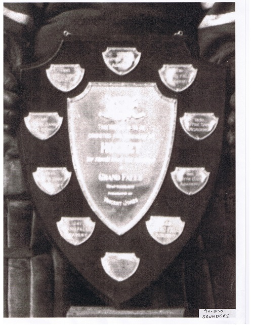 The Sir Vincent Jones Shield in it's early form. It was originally  supposed to only be played for for ten years, but lasted fro over 60.