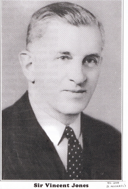 Sir Vincent Jones was superintendent of the Grand Falls Mill and later the managing director of the Anglo-Newfoundland Development Company. He had a long association with the region lasting over thirty years. (GFW Heritage Society)