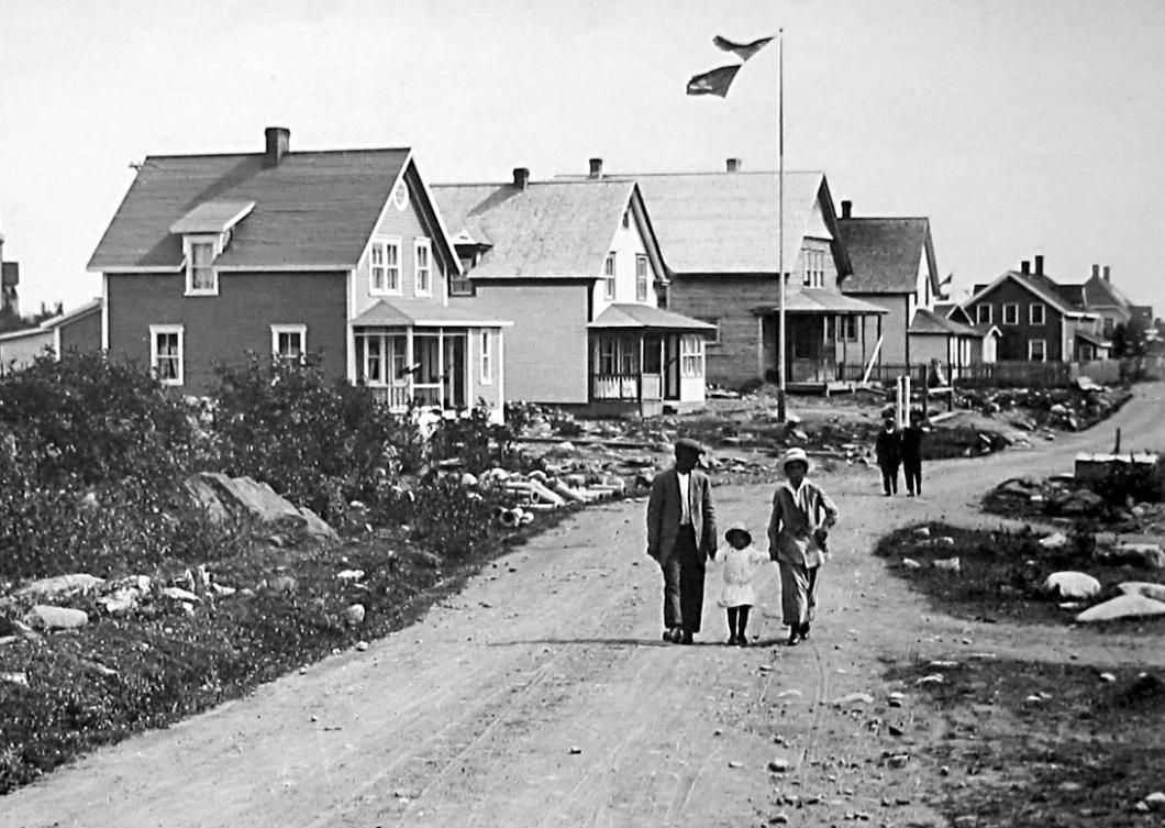 carmelite road 1917