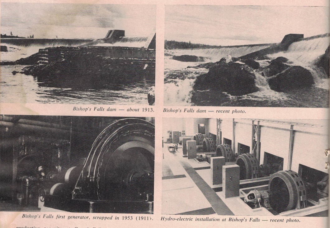 (50 Years of Progress at Grand Falls Pulp and Paper Magizine of Canada 1959)