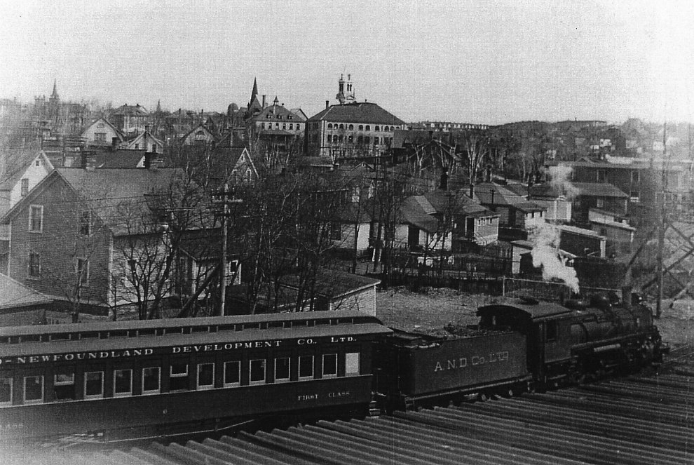 For many years the Botwood Railway offered limited passenger service. (CSTM)