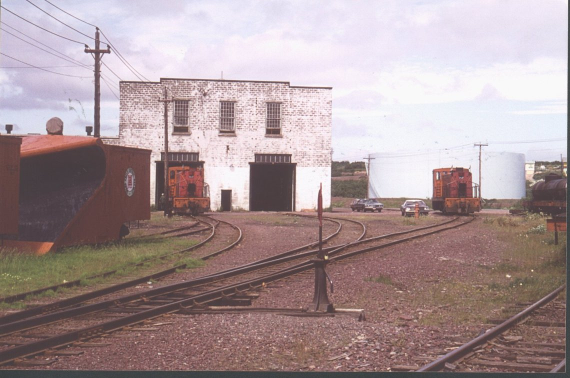 Repairs and maintenance were carried out in the shops at Botwood.