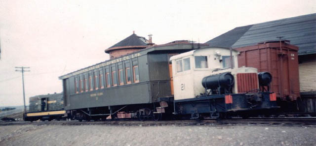 The Millertown Branch and the Harpoon tramway were mainly used to transport loggers into the camps of Millertown Division .http://www.trainweb.org/oldtimetrains/nfld/millertown.htm