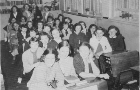 GFA Class 1956 possibly in school