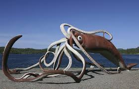 glovers harbour giant squid