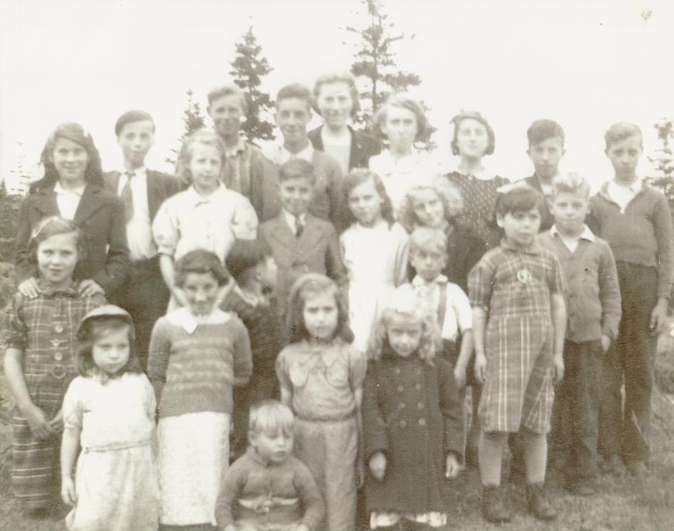 Lock's Harbour Sundy School 1944-45