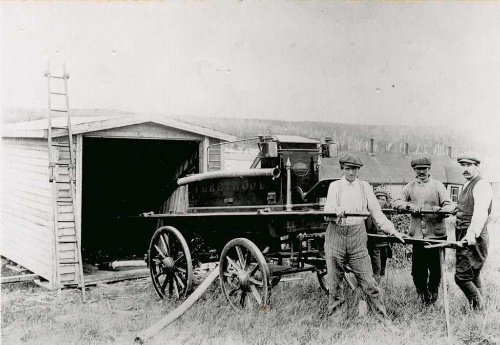 first fire engine gf
