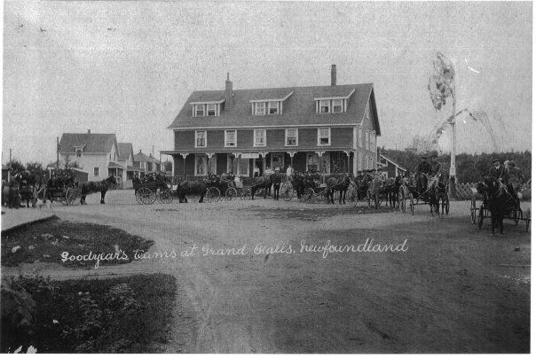 Cabot house with goodyears horses