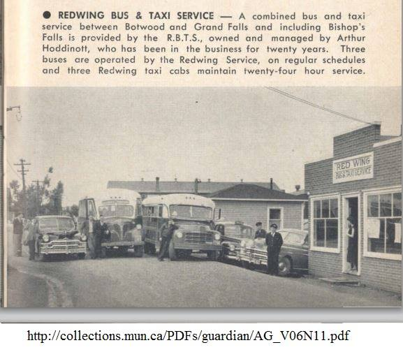 botwood highway red wing bus service