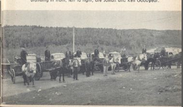 goodyears construction horses and trucks