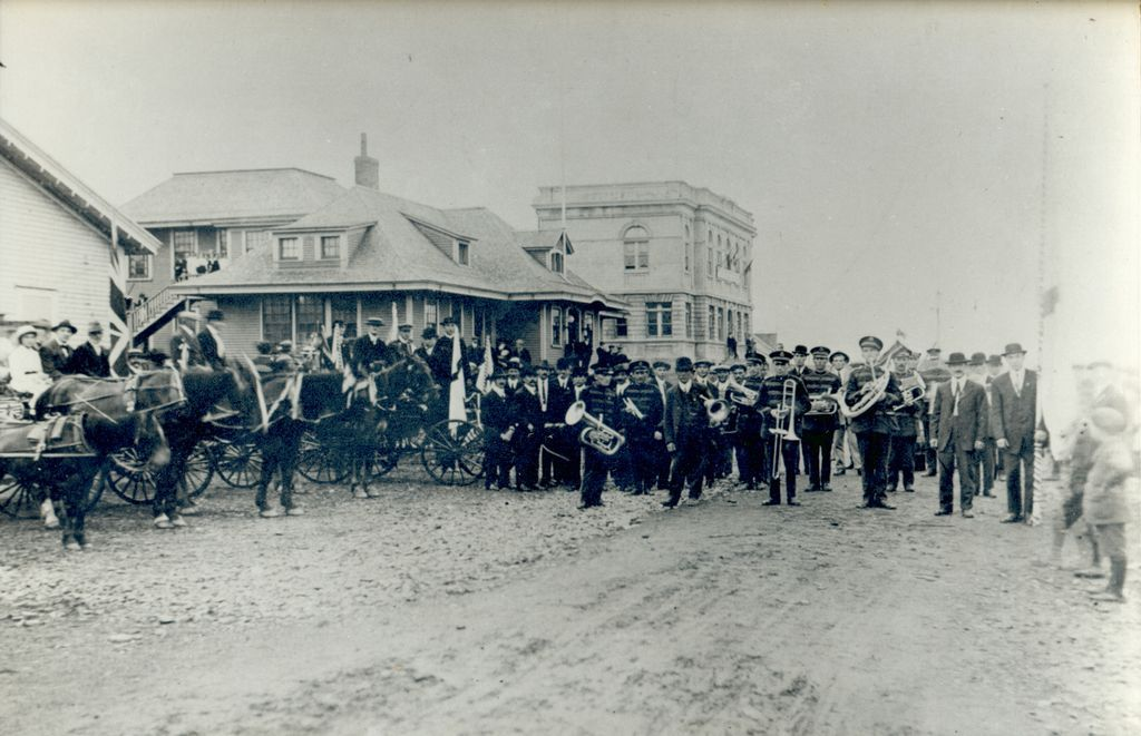 Grand Falls wwi vets welcome home