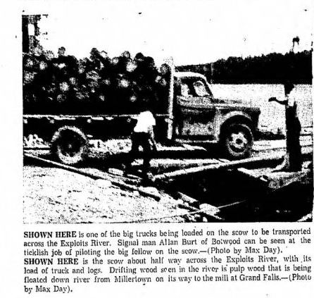 Hardwoods truck badger july 1956 daily news