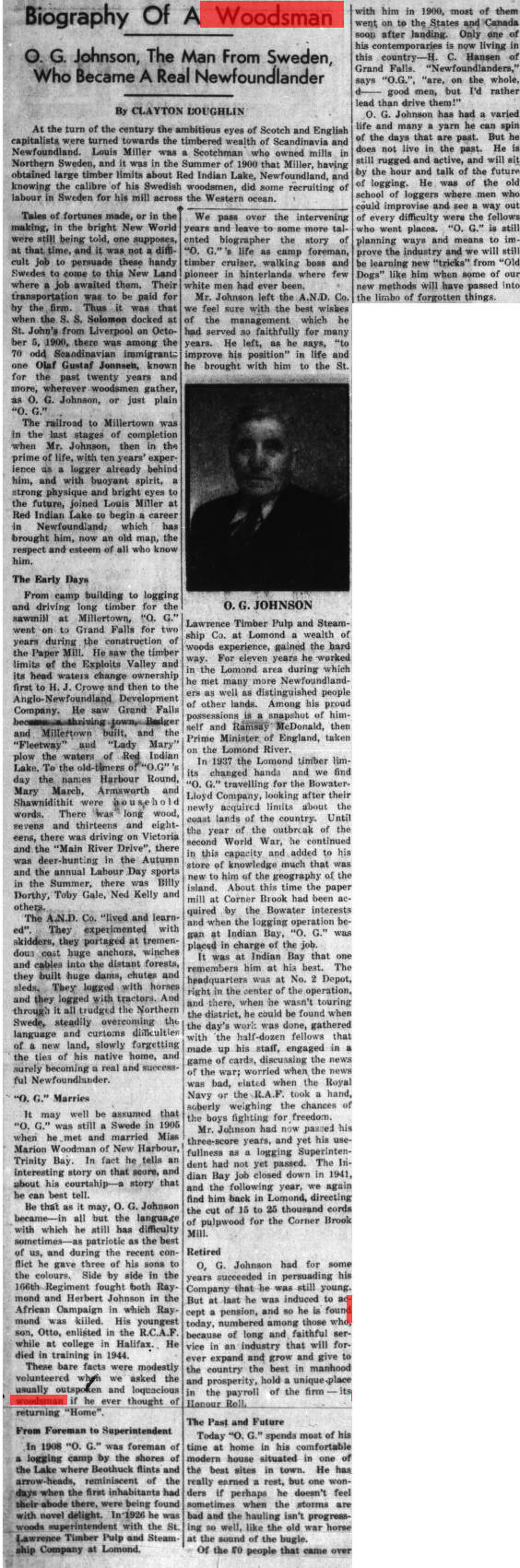 Western Star (Corner Brook, N.L.), 1947-02-07 Biography Of A Woodsman OG Johnson.jpg