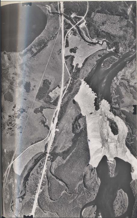 Wigwam brook air photo circa 1970