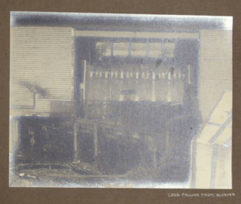 Slasher mill 1912 Hayward