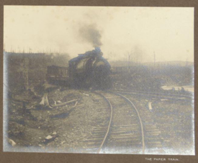 The paper train 1912 hayward
