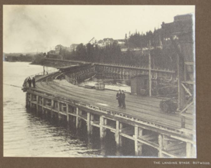 Wharf Botwood 1912 Hayward