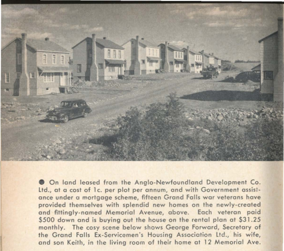 memorial Avenue 1949 AG