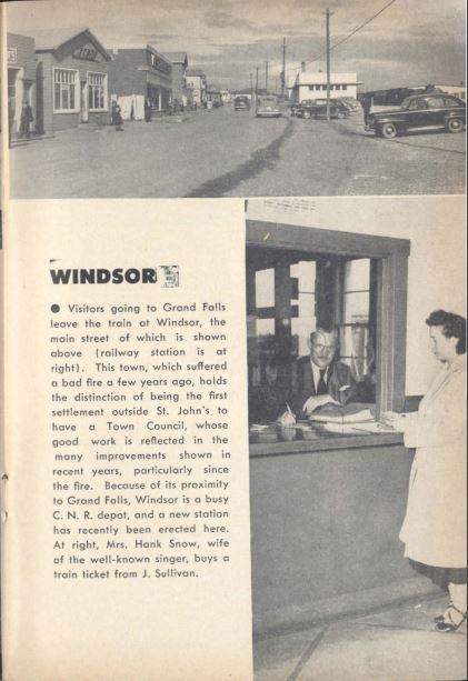 windsor AG station