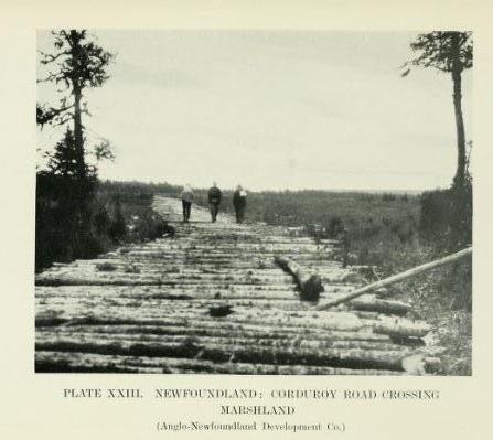 Corduroy Road AND CO 1914