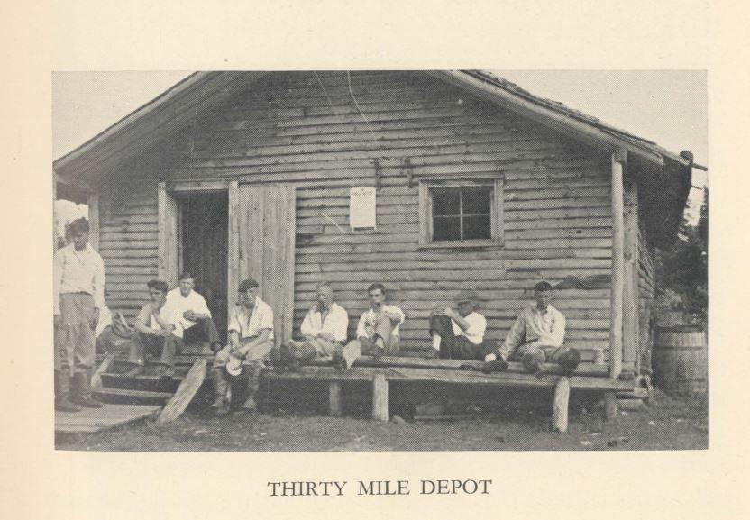 30 mile depot 1934 public school explorers in newfoundland