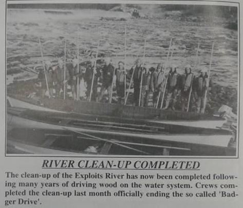 River cleanup gander bay boats