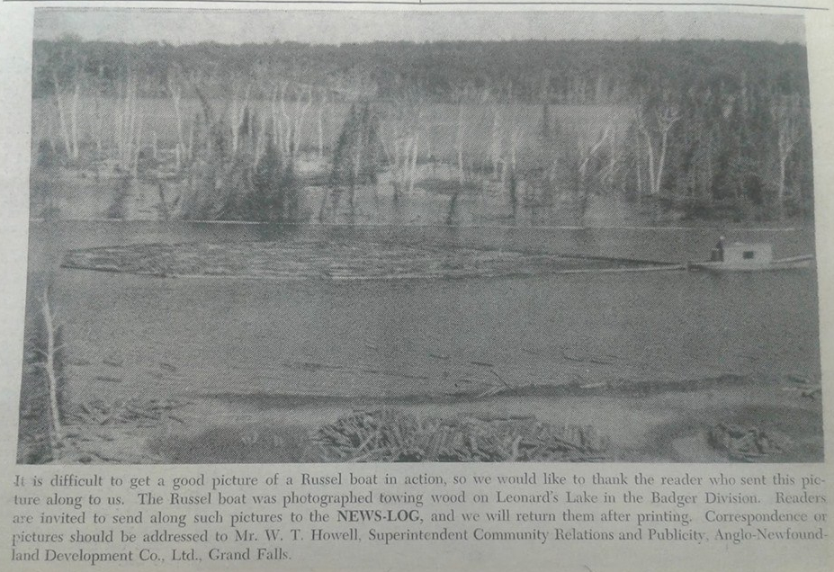 Russel boat Leonards lake