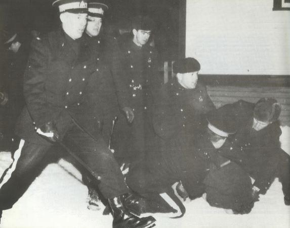 IWA Strike police