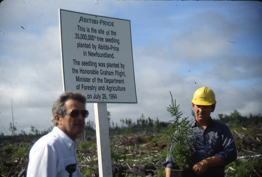 Graham Flight Tree Planting