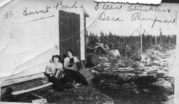 Burnt Pond Camp 1940's
