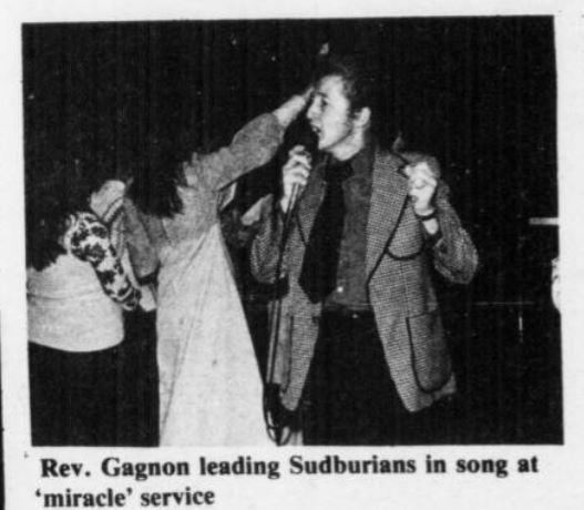 Brother Gagnon Northern Life 1979